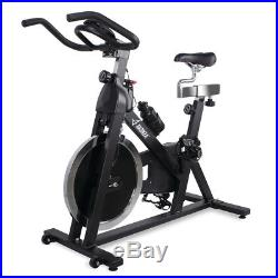 Stationary Indoor Exercise Bike with 40 lb Flywheel LCD Cycle Cardio Fitness