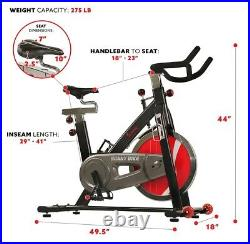 Sunny Chain Drive Indoor Cycling Trainer Exercise Bike SF-B1002C NEW