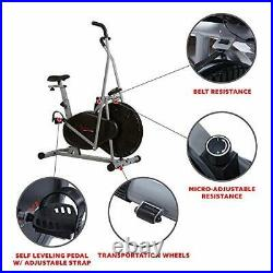 Sunny Health & Fitness Air Resistance Hybrid Fan Bike SF-B2618