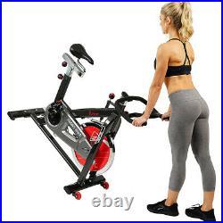 Sunny Health & Fitness SF-B1002 Belt Drive Indoor Cycling Bike with 49 lb Flywheel