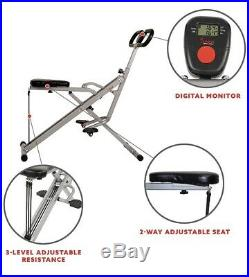 Sunny Health & Fitness Swuat Assist Row-n-Ride Trainer For Squat Exercise