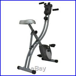 Sunny Health and Fitness (SF-B1412H) Folding Upright Bike with Arm Exerciser