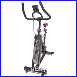 Titan Fitness Pro Indoor Exercise Bike with Flywheel and LCD for Cycle Cardio F