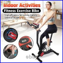 USA Foldable Aerobic Exercise Bike Set Cycling Trainer Fitness Cardio Equipment