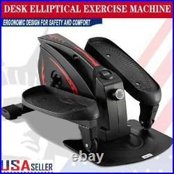 Under Desk Elliptical Trainer Machine Under Pedal Exerciser Stepper Cycle Bike