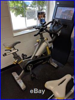 Used Matrix Livestrong Upright Exercise Fitness Training Bike Indoor Cycling