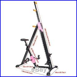 Vertical Climber Exercise Machine Cardio Machines Exercise-2in1 Climber Exercise
