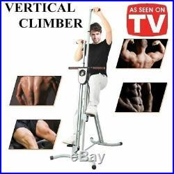 Vertical Climber Stepper Exercise Machine Climbing Cardio Machine for Home Gym