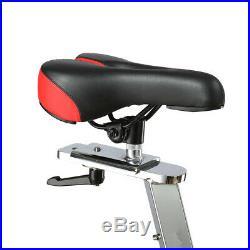 Xspec Grand Indoor Stationary Upright Cycling Bike 50 lbs Flywheel, Black