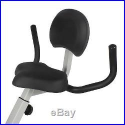 Xspec Upgraded Dual Recumbent Desk Cycling Foldable Exercise Bike
