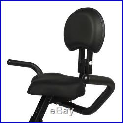 ZAAP Fitness Folding X-Bike Recumbent Upright Exercise Bike